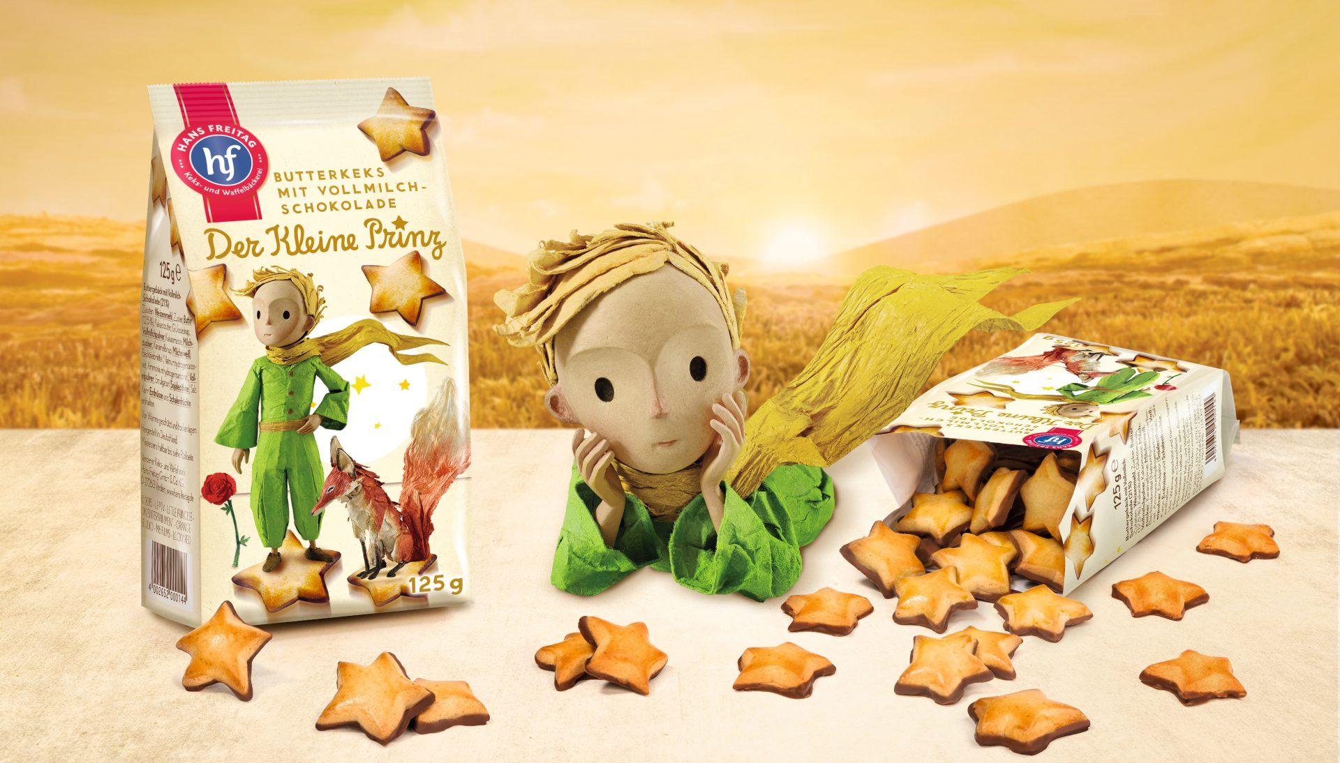 Verpackungsdesign Malvega: Der Kleine Prinz, Hans Freitag