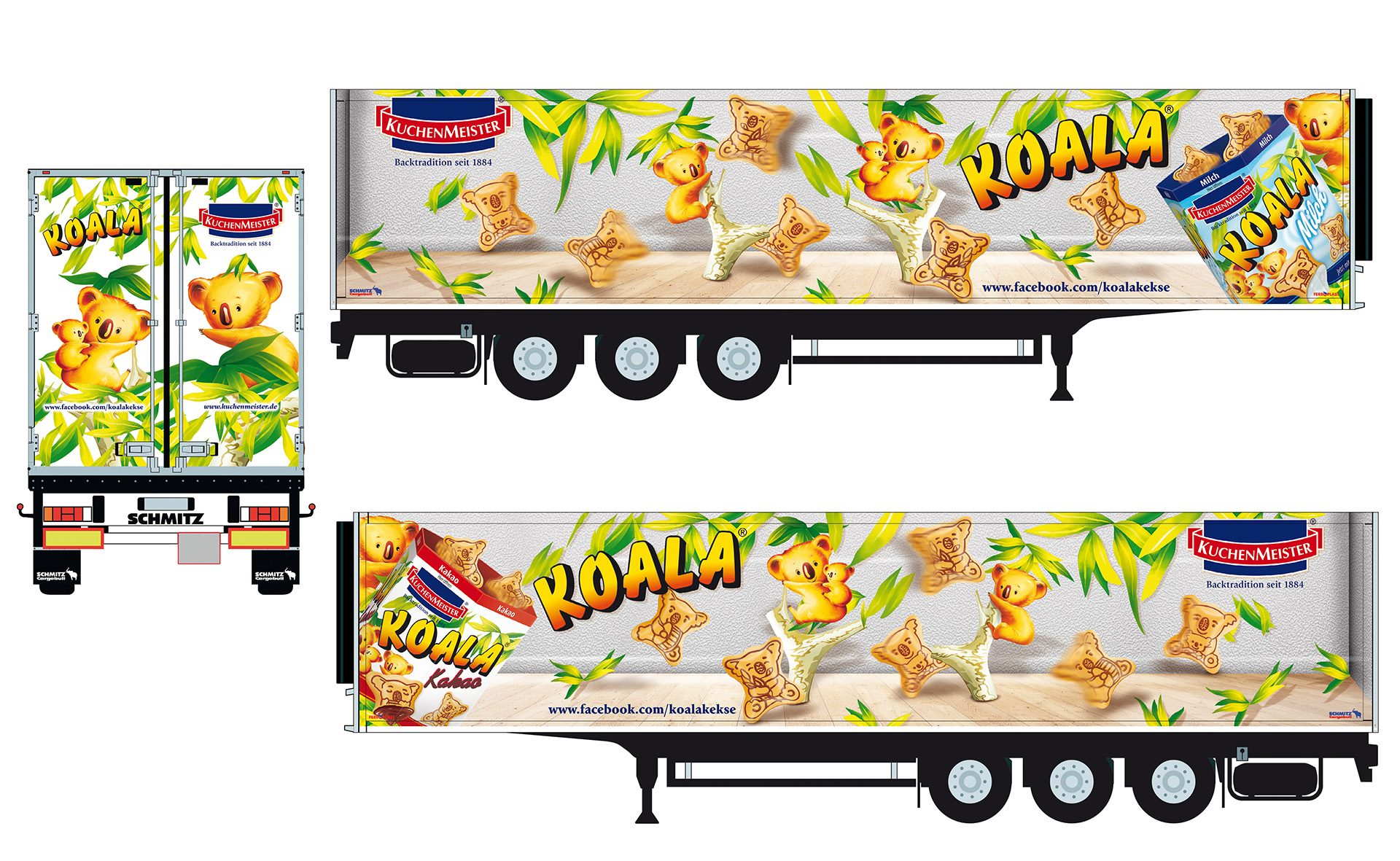 Verpackungsdesign Malvega - Referenz: Koala Keks, Kuchenmeister