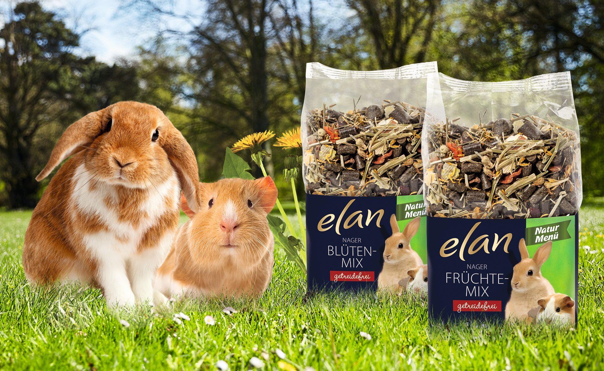 Verpackungsdesign Malvega - Referenz: Tierfutter, Elan