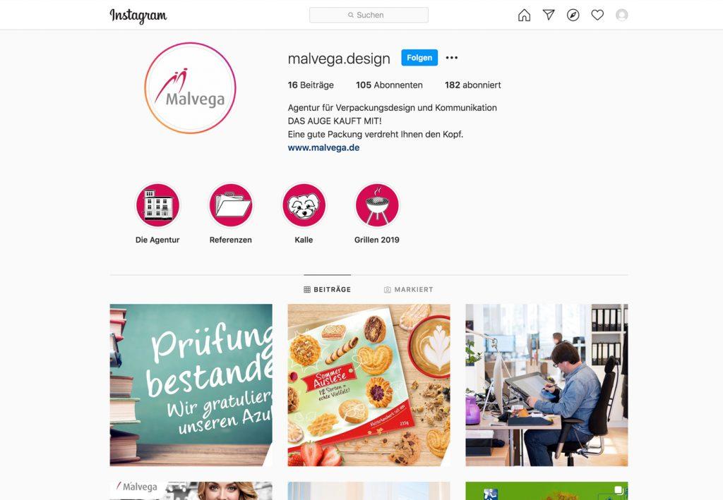 Malvega goes Instagram